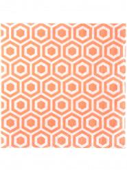 20 tovaglioli di carta con motivi corallo