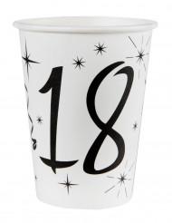 10 bicchieri bianchi 18 anni