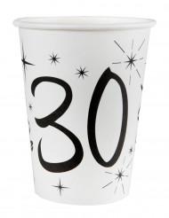 10 bicchieri bianchi 30 anni