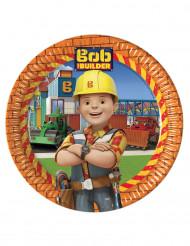 8 piatti di carta Bob Aggiustatutto™ 23 cm
