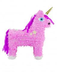 Pignatta a forma di unicorno rosa