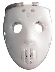 Maschera luminosa giocatore di hockey adulto Halloween