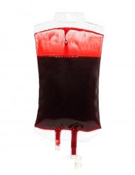 Decorazione sacca di sangue finto Halloween