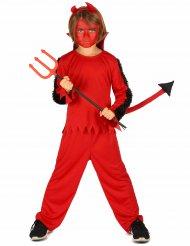Costume da diavolo rosso per bambino