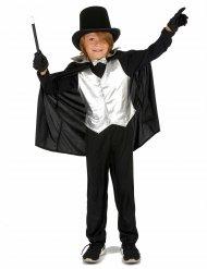 Costume da mago argentato per bambino