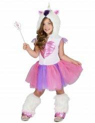 Costume da principessa unicorno bambina