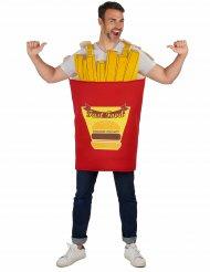 Costume patatine fritte per adulto