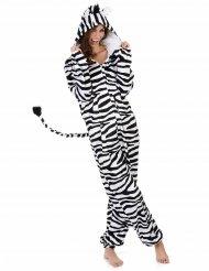 Travestimento zebra donna
