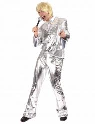 Costume disco color argento per uomo