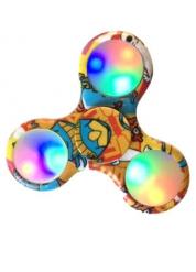 Hand spinner colorato luminoso