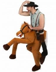 Travestimento uomo a cavallo per adulto