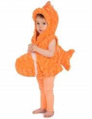 Costume da pesce arancione per bambino
