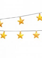 Ghirlanda luminosa con stelle