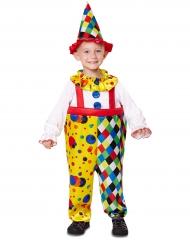 Travestimento piccolo clown burlone per bambino