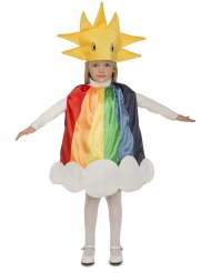 Travestimento da arcobaleno per bambino