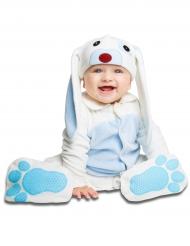 Costume da coniglietto azzurro con ciuccio deluxe bebe