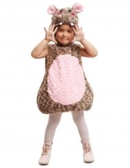 Travestimento da ippopotamo beige per bambino