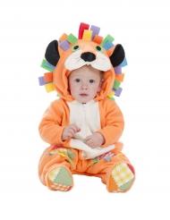 Costume da leone arancione per neonato