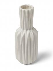 Vaso in resina bianco