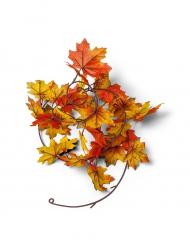 Ghirlanda di foglie artificiali autunnali