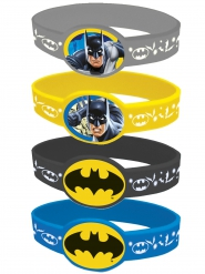 4 bracciali elasticizzati Batman™