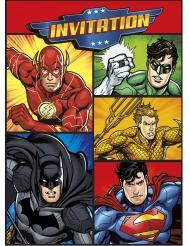 8 inviti di compleanno Justice League™