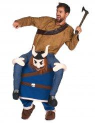 Costume carry me uomo su vichingo per adulto