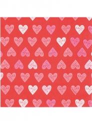 12 tovaglioli di carta Love you