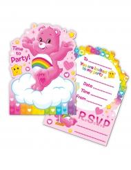 6 inviti di compleanno Gli orsetti del cuore™