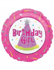 Palloncino di alluminio Birthday girl