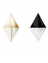 2 ghirlande origami diamanti