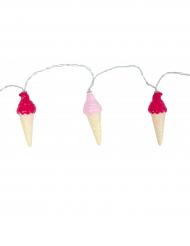 Ghirlanda luminosa con gelati