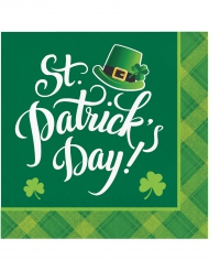 16 tovaglioli quadri St Patrick's Day