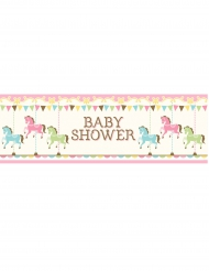 Banner Baby Shower Giostra