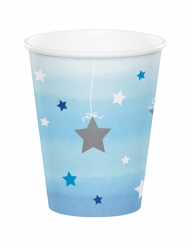 8 bicchieri Little Star blu