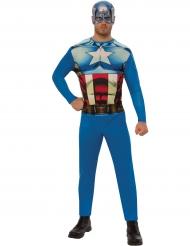 Costume da Capitan America™ per adulto