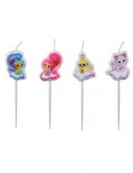 4 mini candeline Shimmer & Shine™