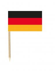 50 bandierine con stecchino della Germania