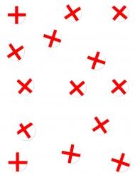 150 coriandoli da tavola bandiera Inghilterra