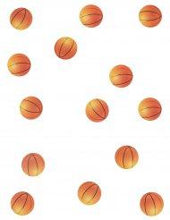 150 coriandoli da tavola tema basket