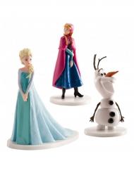 3 statuine per torta di Frozen™