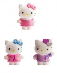3 statuine per torta Hello Kitty™