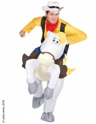 Costume Carry Me Jolly Jumper e Lucky Luke™ per adulto