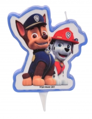 Candela di compleanno Paw Patrol™ Chase e Marshall