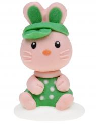 Statuina di zucchero coniglietto modello casuale