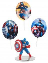Kit di decorazioni per torte Captain America™