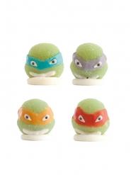 4 statuine in gelatina tartarughe Ninja™