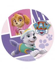 Disco di zucchero Paw Patrol™ Stella e Everest da 20 cm