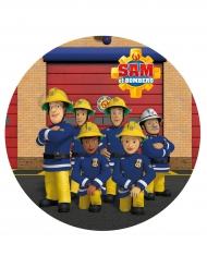 Disco di ostia Sam il pompiere™ 20 cm disegno aleatorio
