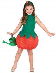 Costume da fragola per bambina